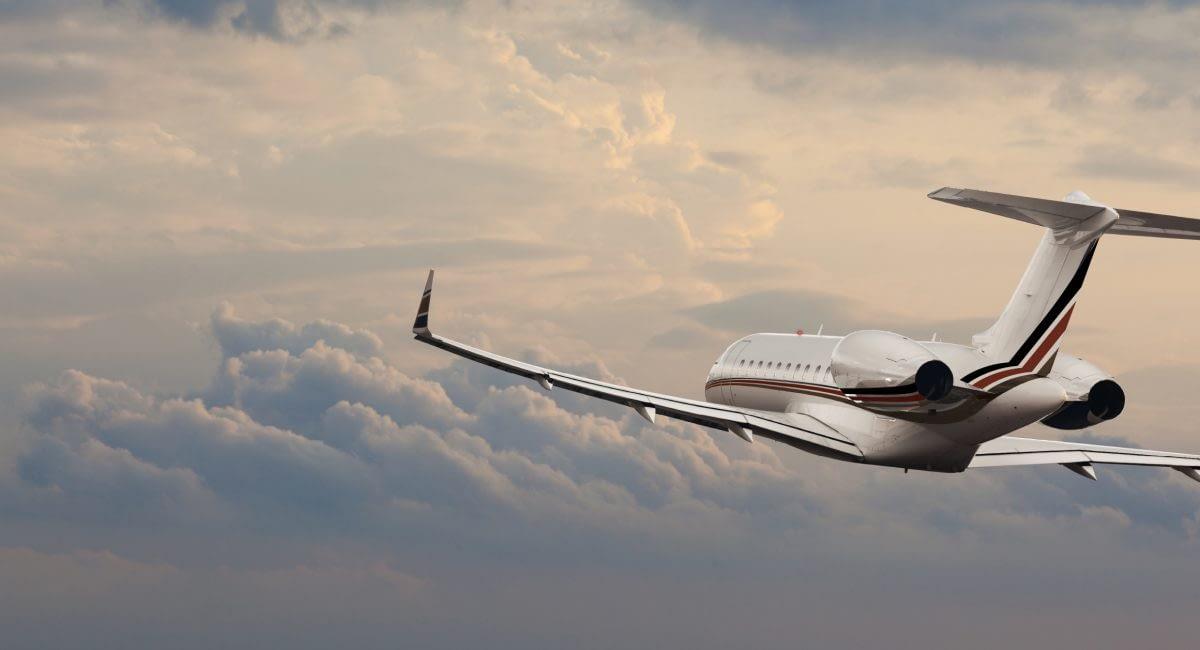 Private Jet Clouds NetJets Livery2